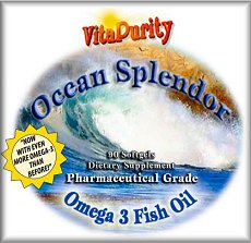 Take advantage of Bargain Bin closeout pricing on VitaPurity Ocean Splendor Omega 3 Fish Oil NOW!